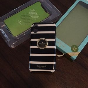 Kate Spade iPhone XS & iPhone X phone case w/ring